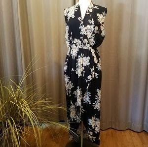 ASTR The Label Floral High Low Dress Size L